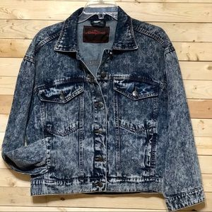 NWT The Rolling stones Denim Jackets oversize S